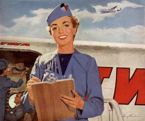 Flygvärdinna arbetstider