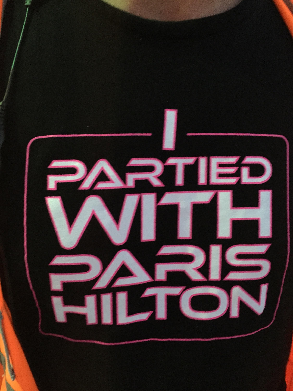i partied with paris hilton