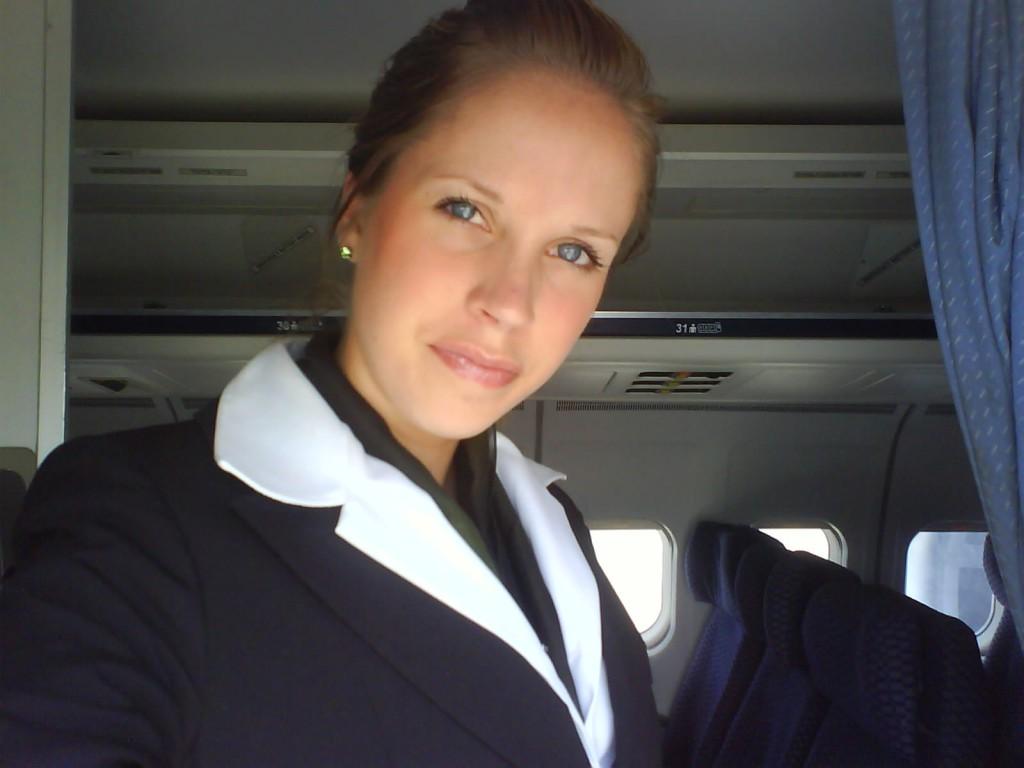flygvärdinnan