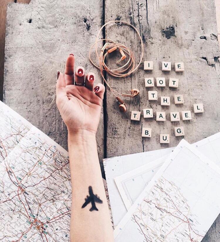 flyg tatuering